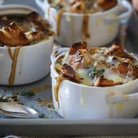 Irish Stout Onion Soup