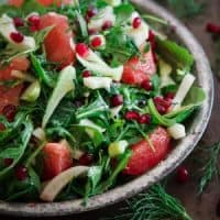 Pickled Fennel Citrus Salad