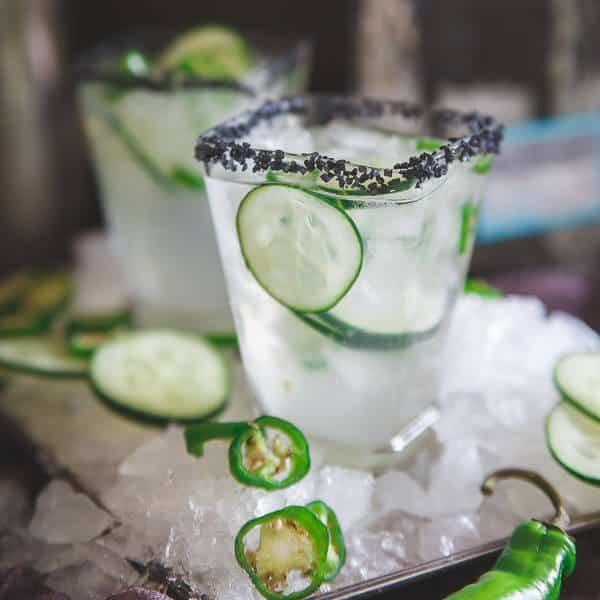 Serrano Cucumber Margarita