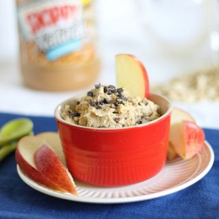 Healthy Peanut Butter Cookie Dough Dip