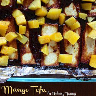 BBQ Mango Tofu