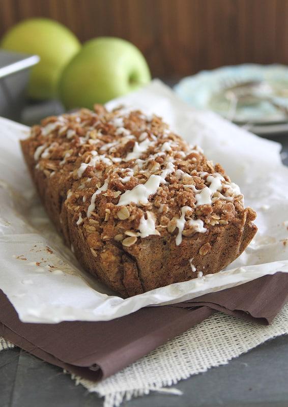 Apple Streusel Bread