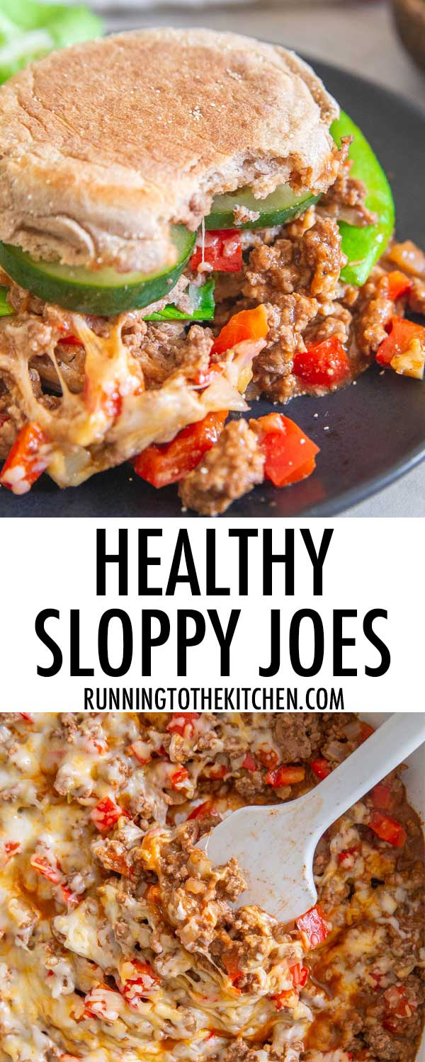 Quick and easy healthy sloppy joes are a great dinner option that can be ready in under 30 minutes.