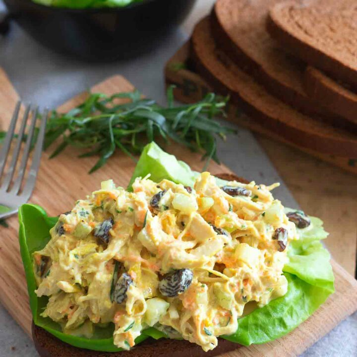 Turmeric Chicken Salad