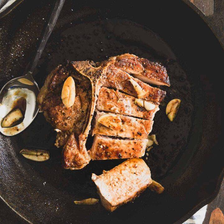 skillet pork chop recipe