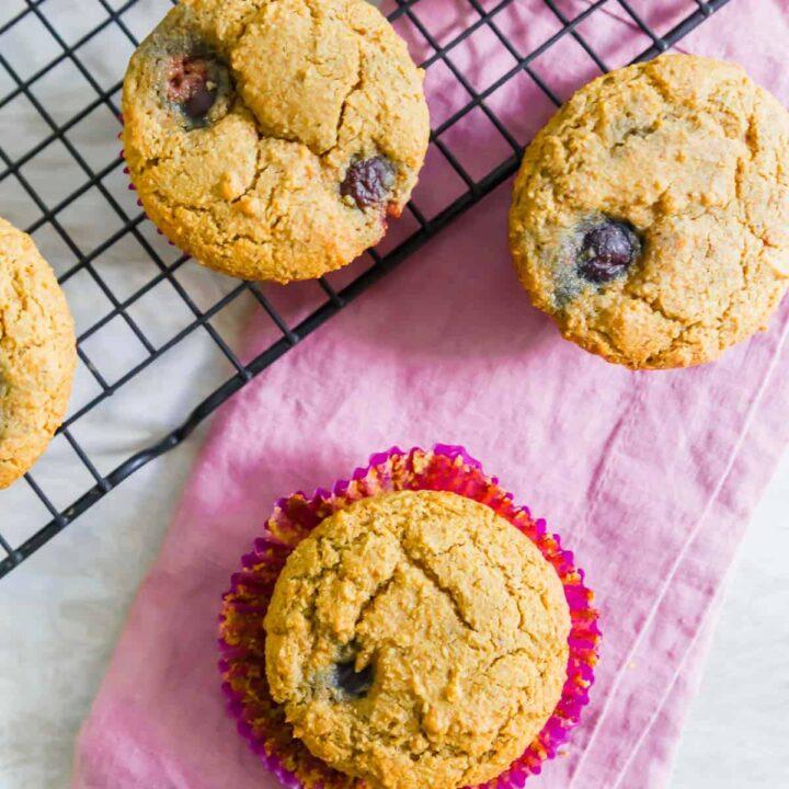 Gluten-Free Cherry Corn Muffins