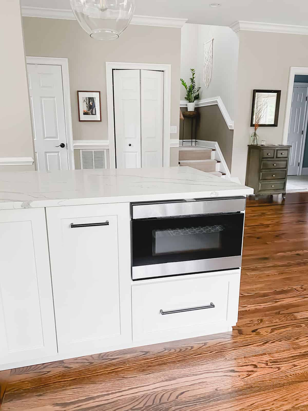 Sharp stainless steel drawer microwave with wave technology