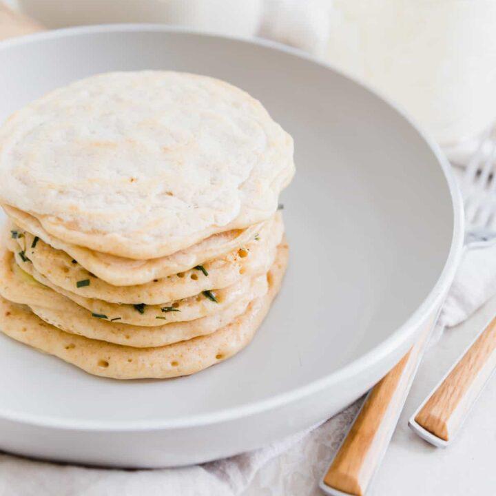 easy 1 ingredient sourdough discard pancakes