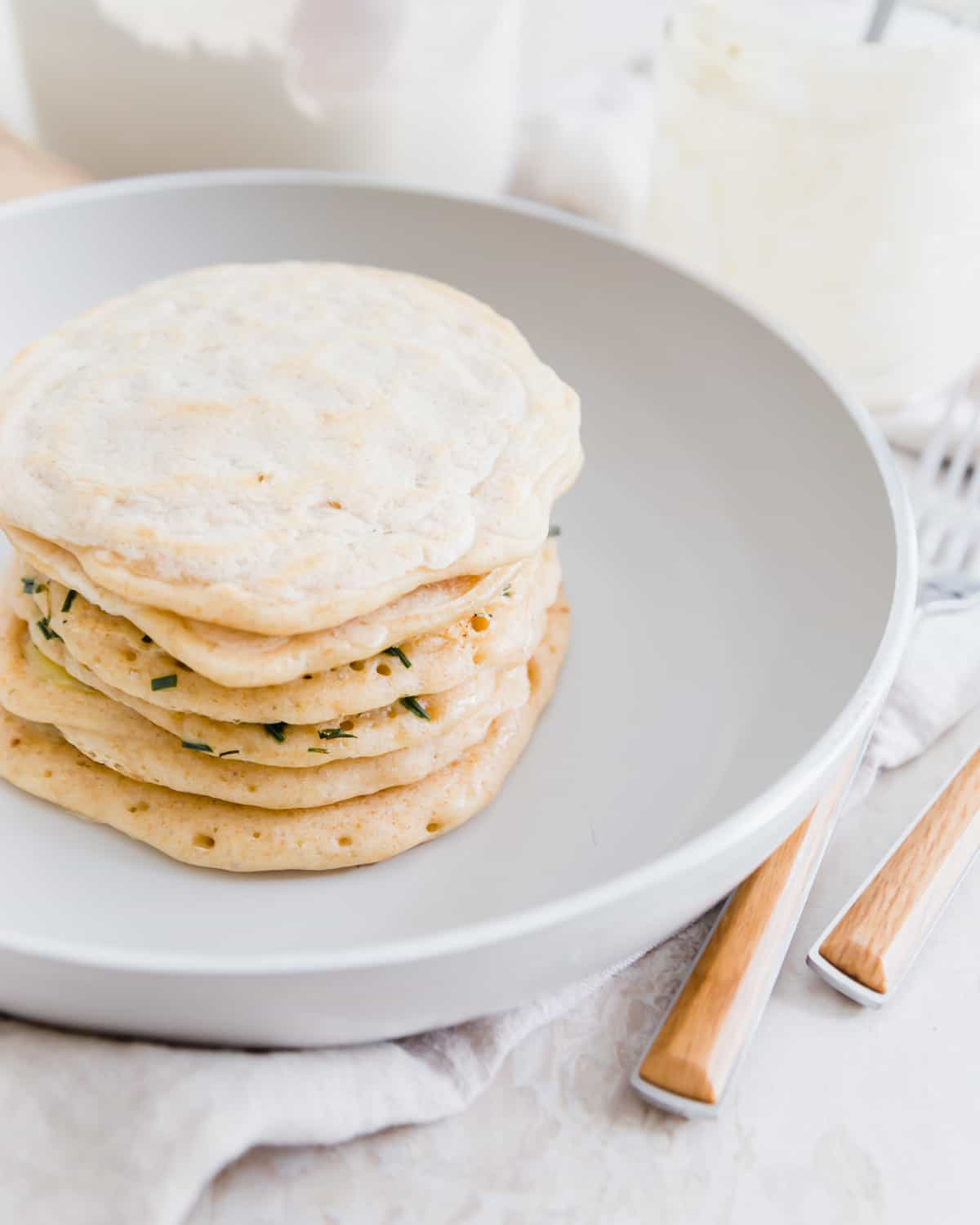 easy 1 ingredient sourdough discard pancakes