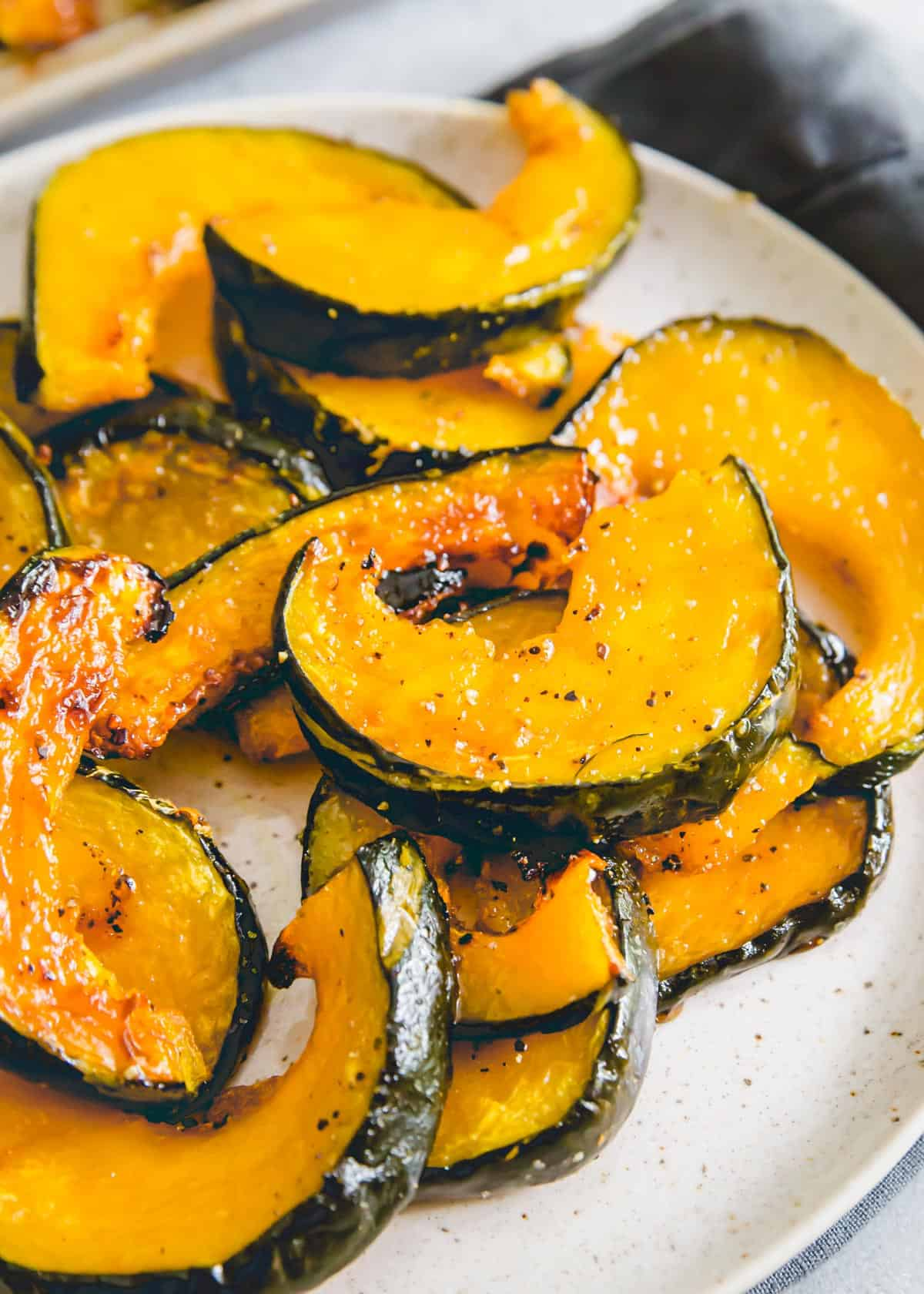 Try roasted buttercup squash as alternative to butternut, acorn and kabocha squash using this simple roasting method.
