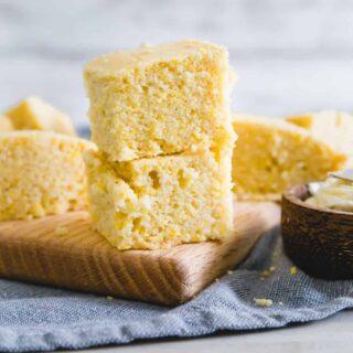 vegan cornbread recipe (gluten-free)