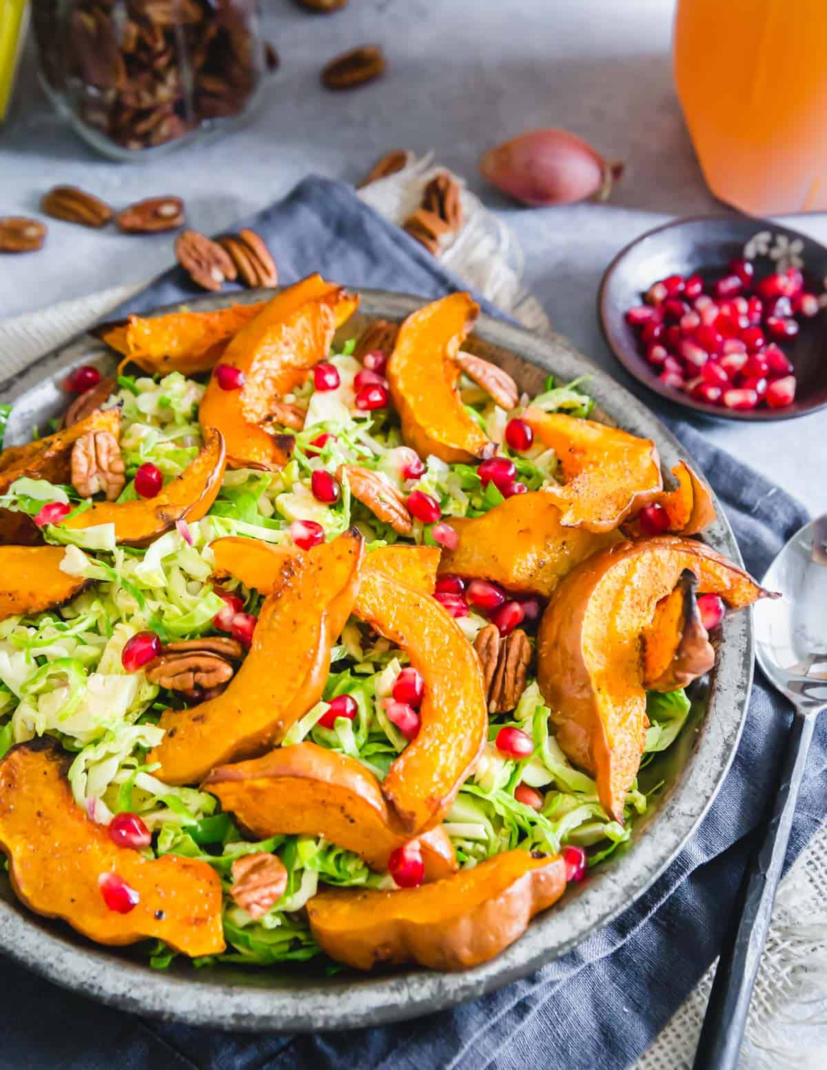 roasted koginut squash fall salad