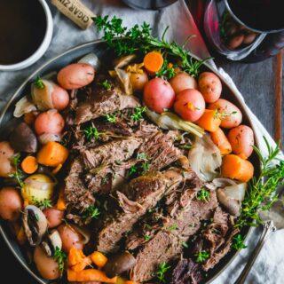 Instant Pot venison roast