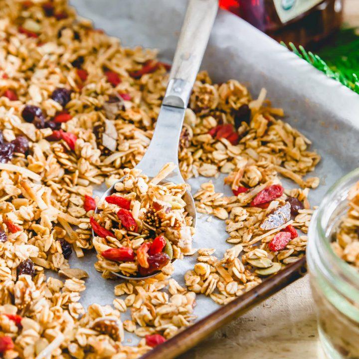 nut free granola recipe