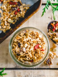 nut free granola recipe