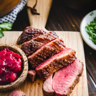 pan seared duck breast recipe