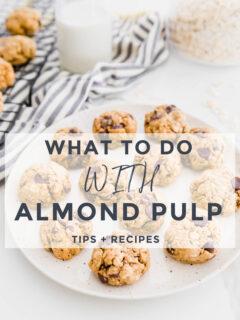 almond pulp recipes