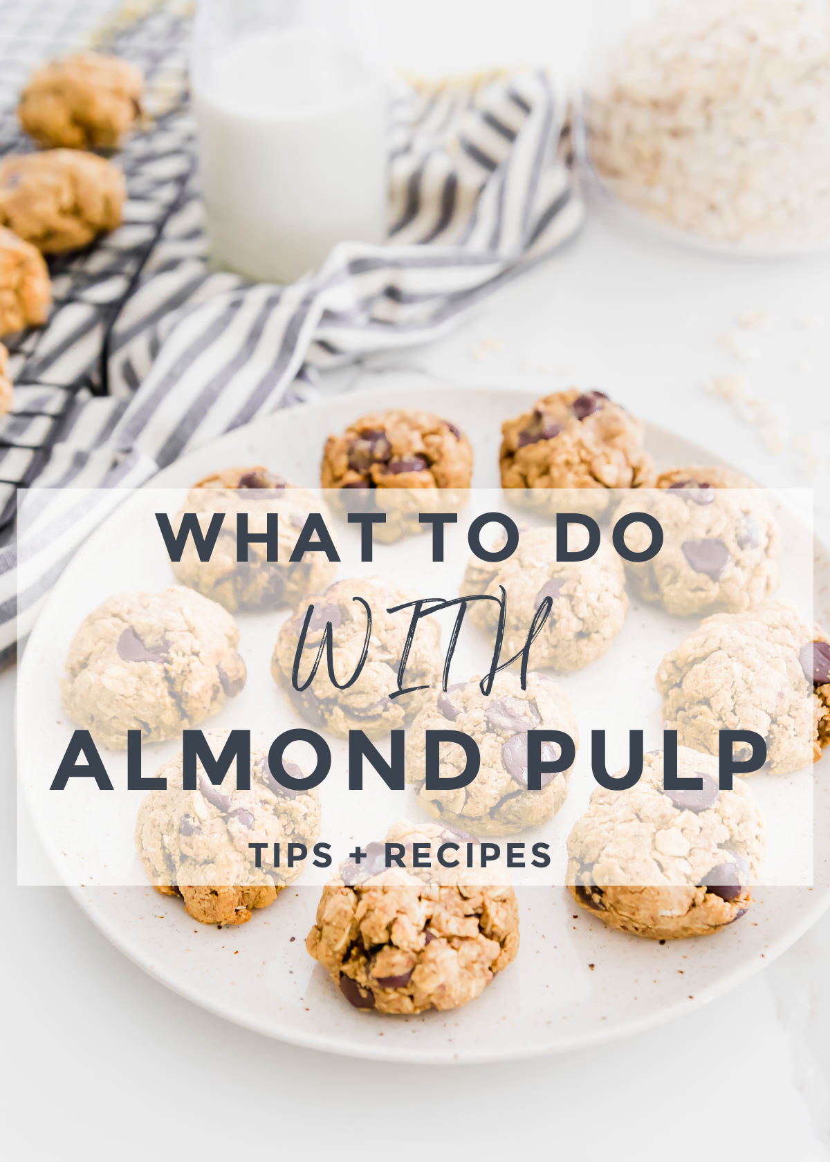 Everything you need to know about leftover almond pulp (from making homemade almond milk) along with a compilation of sweet & savory recipes for how to use it.