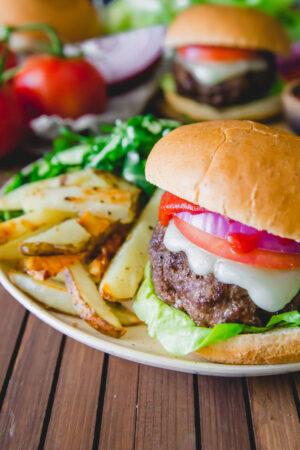 elk burger recipe