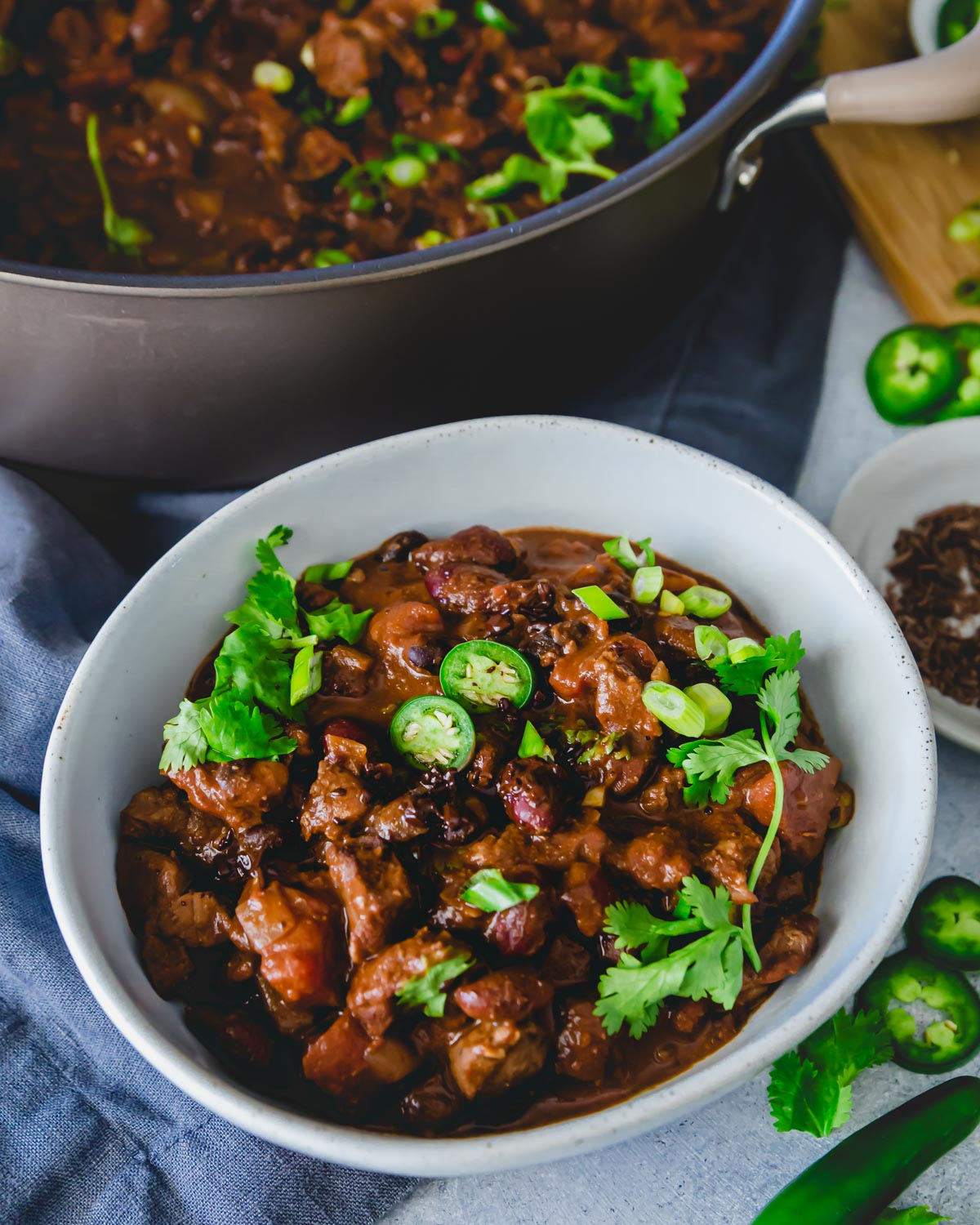 chocolate lamb chili recipe