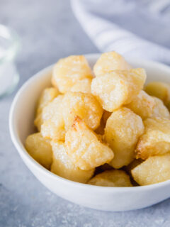 air fryer cauliflower gnocchi