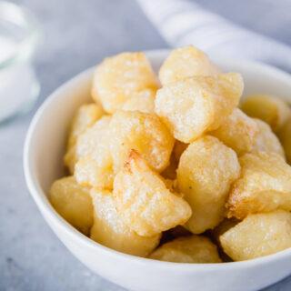 air fryer cauliflower gnocchi