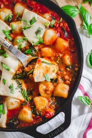 baked cauliflower gnocchi recipe
