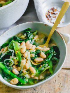 Escarole and beans recipe