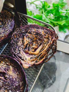 Air fryer cabbage.